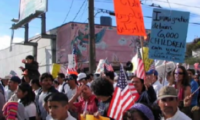 Massive Immigrant Rights Marches
