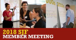 2018 SJF member meeting