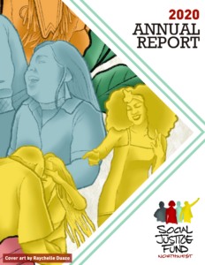 Front cover of 2020 annual report